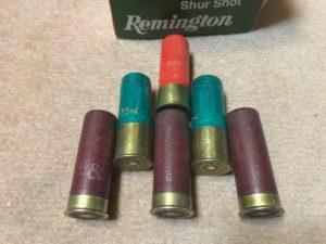 鴨狩猟の銃弾