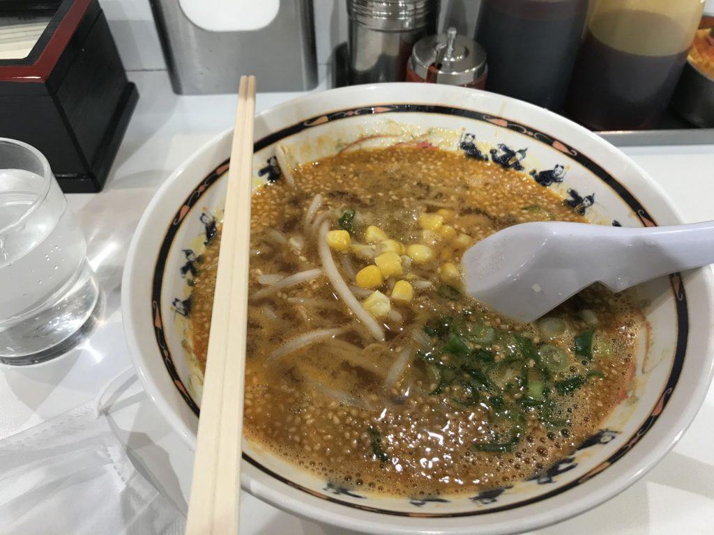 姫路駅で中学生の頃から15年以上食べ続けてるB級グルメ鉄板のゴマみそ担々ラーメン。安くておすすめ